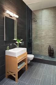 contemporary bathroom by prestige custom building construction