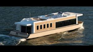 Small Picture Living on a 4 S Houseboat Beautiful Floating Tiny House YouTube