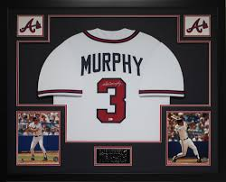 Dale Murphy Signed Braves 35x43 Custom Framed Jersey (MLB) at  PristineAuction.com