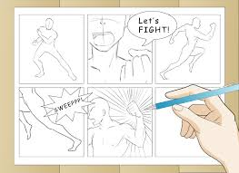 3 ways to draw ic book action wikihow