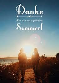 Unvergesslicher Sommer Dankeskarten Echte Postkarten Online