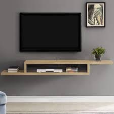 asymmetrical wall mounted tv