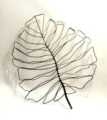 new view gifts and accessories wall decor wire leaf wall decor metal leaf wall art decor