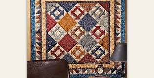 Traditional Colors Create an Elegant Quilt - Quilting Digest & Gettysburg Revisited Quilt Pattern Adamdwight.com