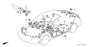 honda civic 4 door lx (a c) ka 5mt wire harness honda civic stereo wiring harness at Honda Civic Wiring Harness