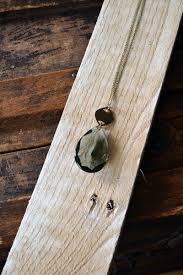 smokey chadelier crystal pendant vintage chandelier crystal necklace antique teardrop prism necklace vintage