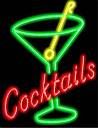 Image result for cocktails sign