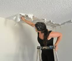the joy of popcorn ceiling removal