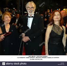 Isabelle Huppert Cannes 2001 Stock Photos Isabelle Huppert.