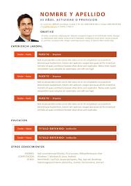Modelo De Curriculum Vitae En Word Free Download Modelos De Curriculum Vitae Word Millbayventures
