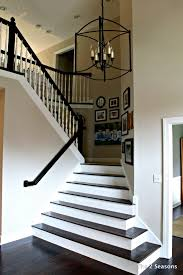 The Seasons  The Mother Daughter Lifestyle BlogOne thing I really love about her house was the floor plan and layout  The moment you walk in  there is a very open foyer  I loved the stairs and how they