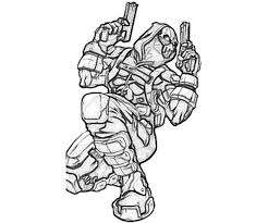 Deadpool Printable Coloring Pages Clip Art Library