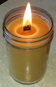 wooden wick fragrance candle