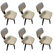 swivel dining room chairs. Set Of Six Thonet Swivel Dining Chairs Room