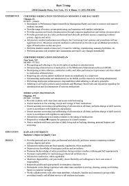Download Medication Technician Resume Sample as Image file