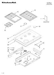 looking for kitchenaid model kgss907sss00 gas range repair kitchenaid kgss907sss00 cooktop parts diagram