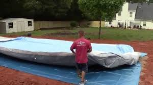 Installing a Intex Ultra Frame Rectangle Pool PROFESSIONALLY Above