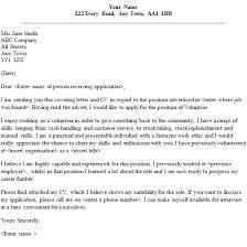 Volunteer Cover Letter Samples Volunteer Job Cover Letter Sample Lettercv Com