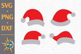 Santa Hat Graphic By Svgstoreshop Creative Fabrica