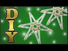 Stern Aus Perlen Basteln Weihnachtsschmuck Diy Tutorial