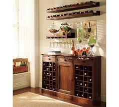 Floating Shelves Pottery Barn Furniture Ideas Floating Wine Glass Shelf Wine Rack With 55