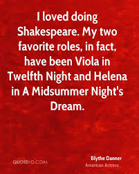 Love Quotes Midsummer Night\'s Dream Best of Blythe Danner Quotes QuoteHD