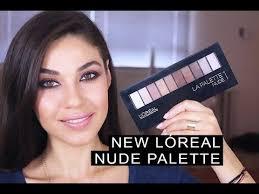 new l oréal la palette 1 tutorial eman you