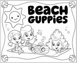 Small Picture Get This Bubble Guppies Coloring Pages Free Printable 606698