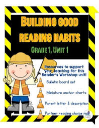 Building Good Reading Habits Reading Resources