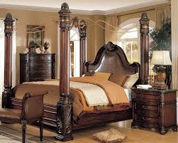 King Size Black Bedroom Furniture Sets Remarkable Mediterranean Bedroom Interior Design With Wooden Bed
