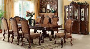 cromwell antique cherry formal dining room set from furniture of america cm3103t table coleman furniture
