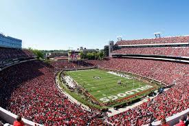 Uga Seating Chart Sanford Stadium Sanford Stadium Makes Gate Changes For Georgia Notre Dame Game