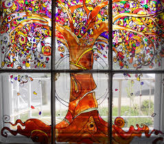 painting on glass windows best of window glass painting drawing fanpop