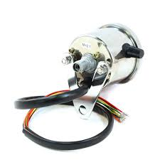 2 5 chrome mini speedometer led indicator lights 2 5 mini 2 5 chrome mini speedometer w white face led indicator
