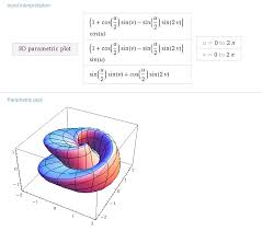 how to graph 3d functions of two variables on wolfram alpha