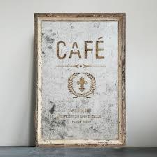antiqued wood framed cafe mirror
