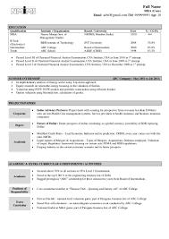 Resume Format B Tech Freshers Sugarflesh