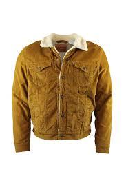good sherpa trucker jacket bronze brown