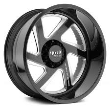 moto metal wheels. moto metal® - mo400 gloss black with milled accents moto metal wheels