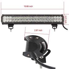 universal wiring harness 126w light bar cree led 20 21 evergrow® universal wiring harness 126w light bar cree led 20 21 inch spot flood combo work