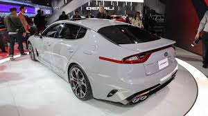 2018 kia stinger. wonderful stinger as far as grand tourers go the stinger gt should be a peak of all korean  efforts ever not only does it have tech but looks business throughout 2018 kia stinger