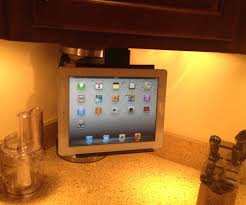 Kitchen Tablet Holder Under Cabinet Ipad Tablet Mount