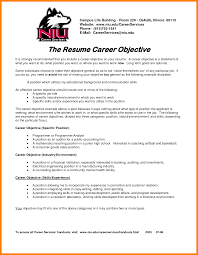 9 Career Change Resume Objective Examples Catering Resume