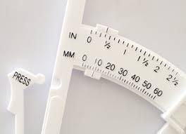 Accu Measure Body Fat Chart About The Accu Measure Calipers