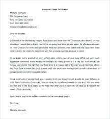Employee Business Thank You Letter Template Thanksgiving Format For ...