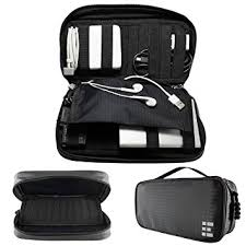 Universal Travel Cord Organizer - Electronics Accessories Case & Cable  Holder