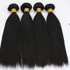 Hair Length Chart Weave Peruvian Straight Hair Bundles Natural Color Human Hair Extensions Remy Hair Weave Bundles