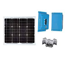 Solar <b>Kit Solar Panel 18v</b> 30W Mono 12v Battery Charger Solar ...
