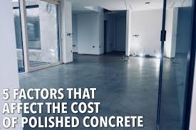 factors that affect the cost of polished concrete