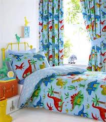 kids quilt sets dinosaur duvet boys blue bedding covers curtains argos childrens